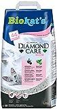 Biokat's Diamond Care Fresh Katzenstreu mit Duft – Hochwertige Klumpstreu für Katzen mit Aktivkohle und Aloe Vera – 1 Papierbeutel (1 x 8 L)