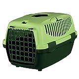Trixie 39814 Transportbox Capri 1, XS: 32 × 31 × 48 cm, dunkelgrün/hellgrün
