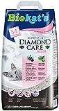 Biokat's Diamond Care Fresh Katzenstreu mit Duft – Hochwertige Klumpstreu für Katzen mit Aktivkohle und Aloe Vera – 1 Papierbeutel (1 x 10 L)