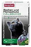 Zecken- & Flohschutz Halsband für Katzen | Zeckenschutz für Katzen | Reflektierendes Halsband gegen Zecken & Flöhe | Mit Sicherheitsverschluss | 1 Stk