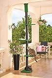 CLEVERCAT Outdoor Kratzbaum Terrasso, aus deckenhöhe Ausschauhalten, made in Germany 839