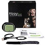 KIPPY - EVO - Das Neue GPS und Activity Monitor für Hunde und Katzen, 38 gr, Waterproof, Batterie 10 Tage, Green Forest