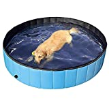 HEcSHENG Faltbarer Hund Planschbecken Welpen Katze Badewanne Haustier Kinder Kinder Ball Pool
