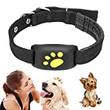 Peaches Stores Haustier-GPS-Tracker, intelligentes Hundekatzenhalsband, Aktivitätsmonitor für Haustiere, wasserfeste GPS-Rückruffunktion USB-Lade-GPS-Tracker für Hunde und Katzen