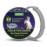SEISSO 38cm Flohhalsbänder für Katze, Halsband Anti Floh und Zecken