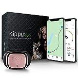 KIPPY - EVO - Das Neue GPS und Activity Monitor für Hunde und Katzen, 38 gr, Waterproof, Batterie 10 Tage, Pink Petal