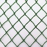 Aquagart® Teichnetz, 3m x 6m, dunkelgrün, engmaschig: Maschenweite 15mm x 15mm, Laubnetz, Teichabdecknetz, Vogelabwehrnetz, Reihernetz robust