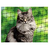 Nobby Katzenschutznetz schwarz M 4 x 3 m